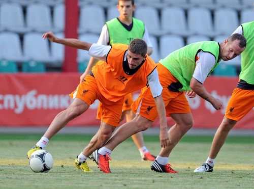 Pics: Reds train in Belarus - Liverpool FC