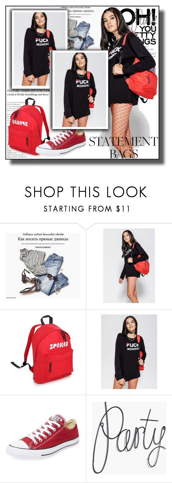 """""""MINGALONDON.COM  10"""" by k-lole ❤ liked on Polyvore featuring Converse"""