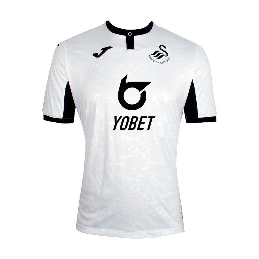 Swansea 19 20 Home Camisa De Futebol Camisa Futebol