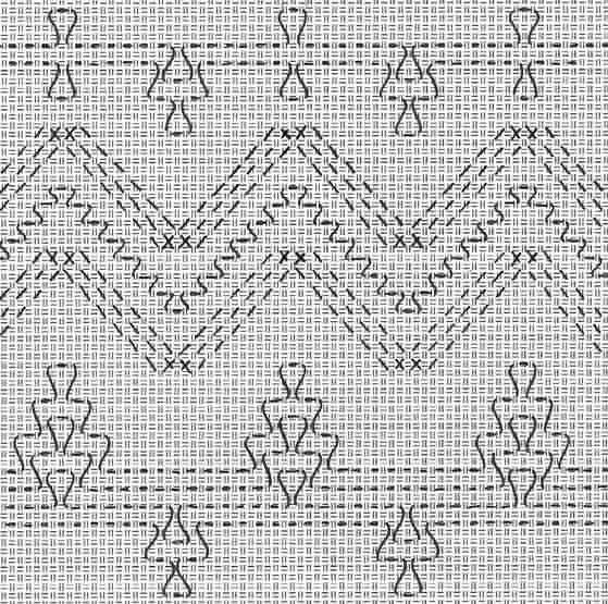 Pin de Linda Lawhorne en Huck Weaving | Pinterest | Esquemas ...