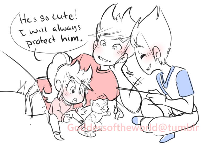 I don't ship TomTord but it's still cute<< I ship tomtord