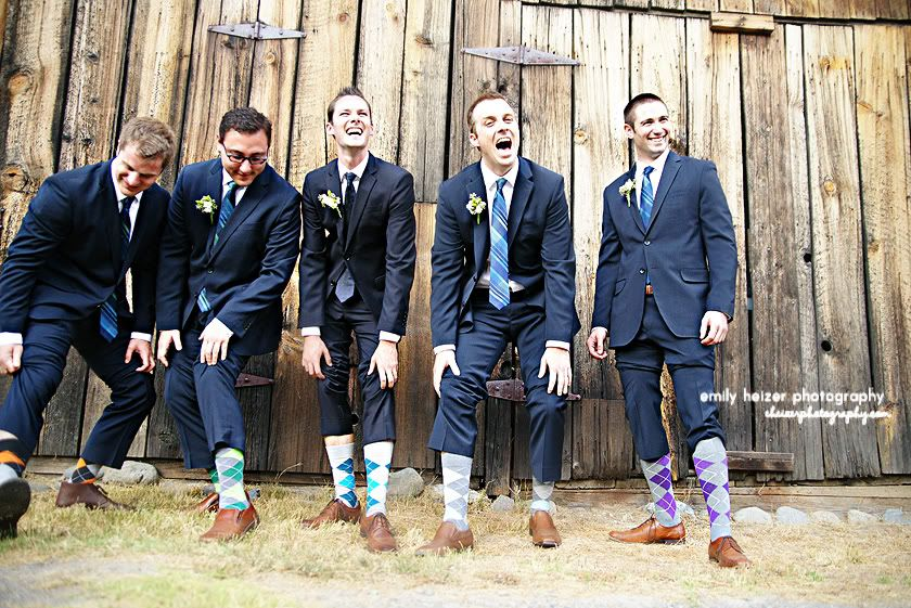 Argyle Socks And Burberry Suit Fun Groomsmen Portrait Gold Country Coloma Wedding By