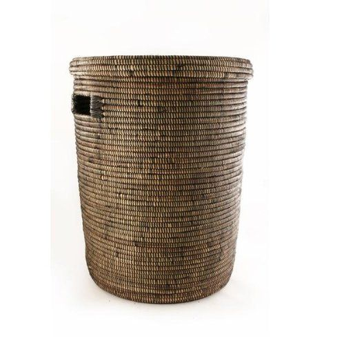 Senegalese Lidded Hampers Black Brown By Small Things After All