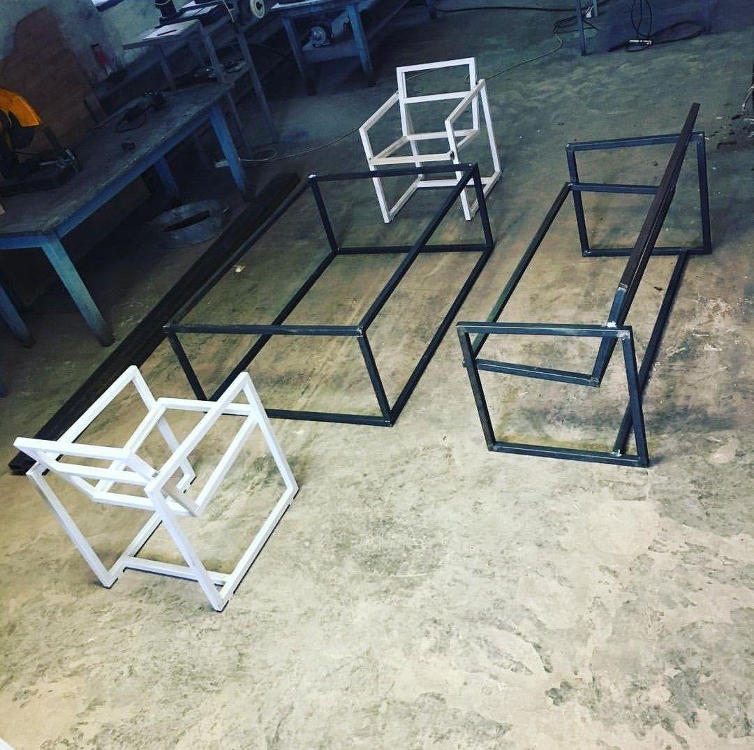 Furniture Besi Welded Furniture Steel Frame Furniture Iron Furniture