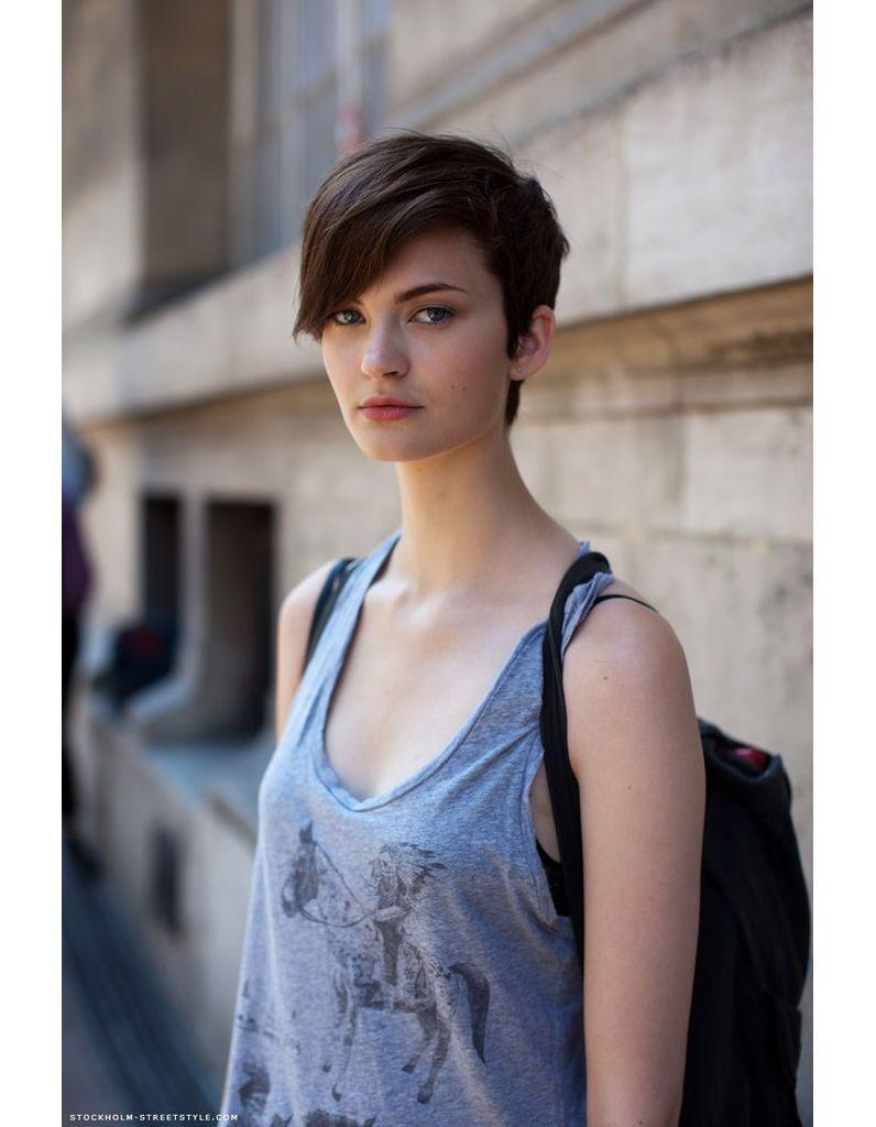 Modèle de coiffure courte hiver 2015 Coiffure courte
