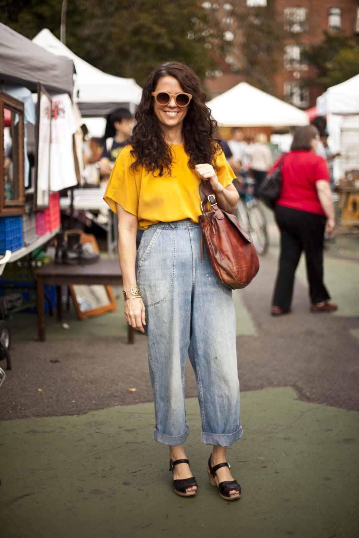 Brooklyn Flea NYC - Street Style - Weekend Outfits | LOOKS
