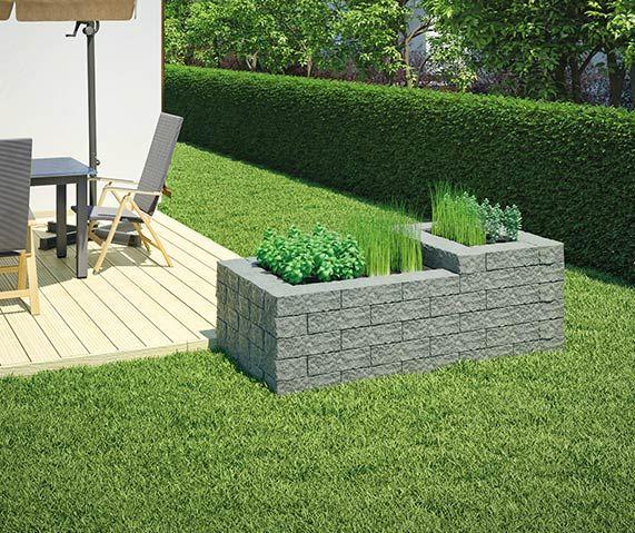 hochbeet ganz einfach selber bauen hochbeet aus stein. Black Bedroom Furniture Sets. Home Design Ideas