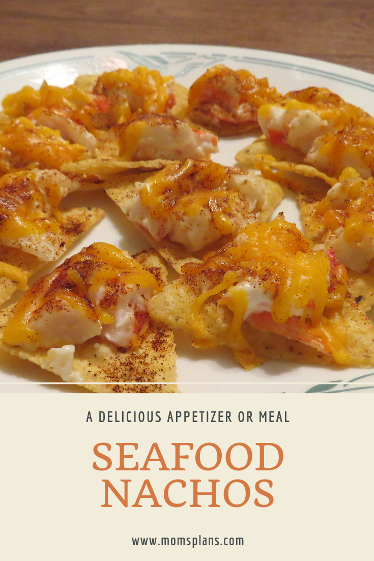 Photo of You'll love this Seafood Nachos appetizer recipe, full of imitation crab meat, c…