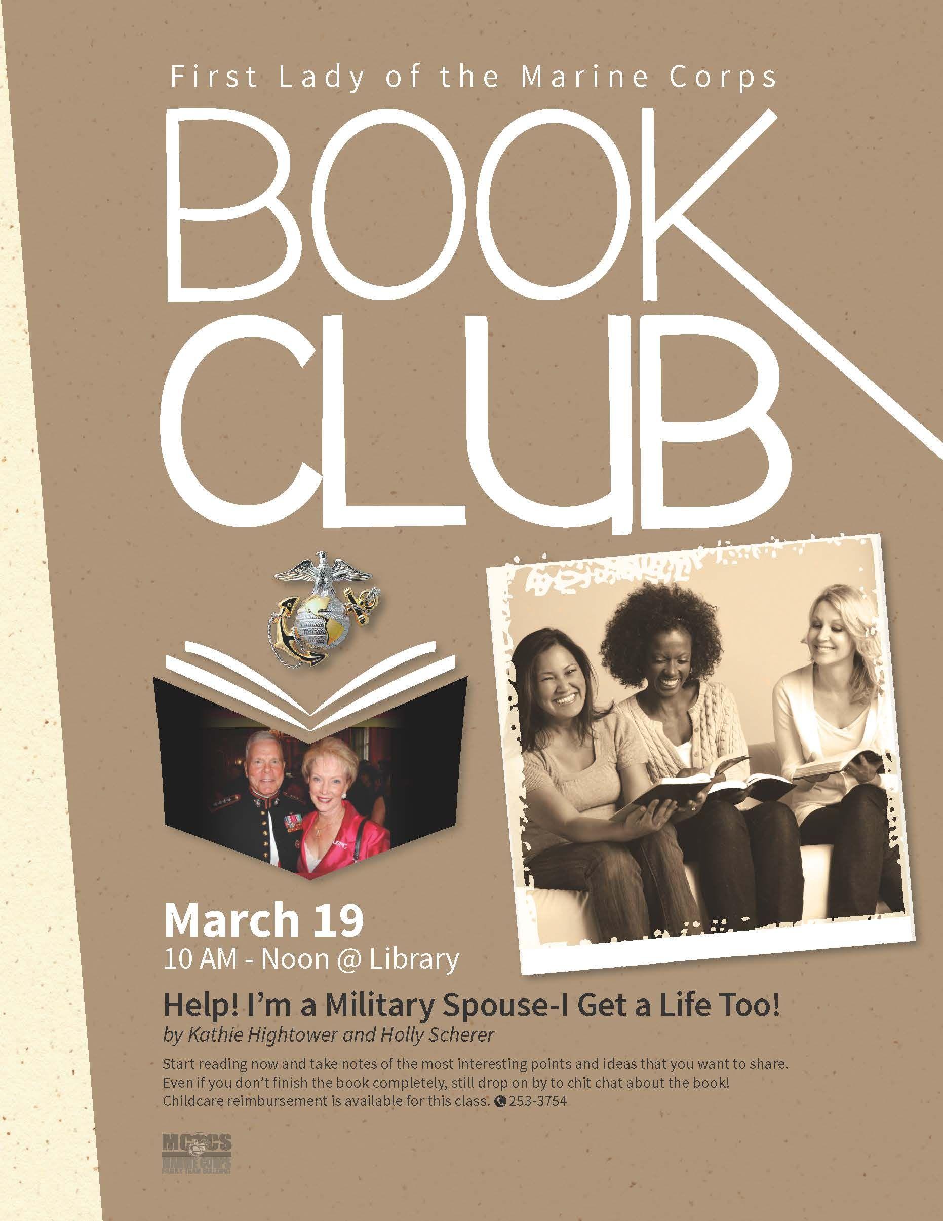 First Lady of the Marine Corps Book Club | MCCS Iwakuni