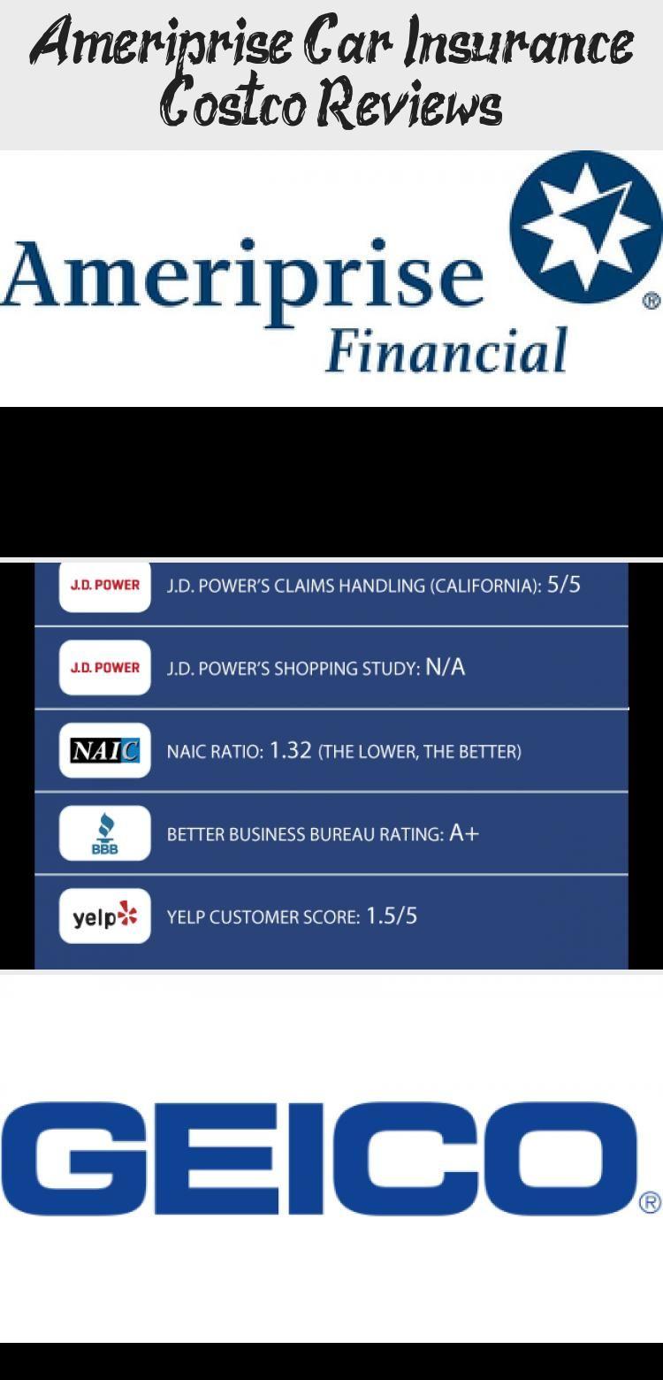 Ameriprise Car Insurance Costco Reviews In 2020 Geico Car