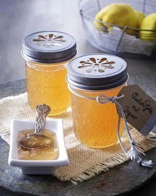 Quitten-Gelee mit Ingwer Rezept | LECKER #Äpfelverwerten