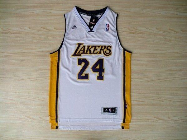 premium selection 037cc 214a3 Lakers #24 Kobe Bryant Revolution 30 Swingman Alternate ...