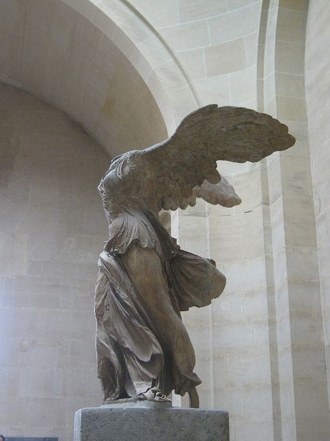 Winged Victory Of Samothrace Winged Victory Of Samothrace Winged Victory Louvre Museum