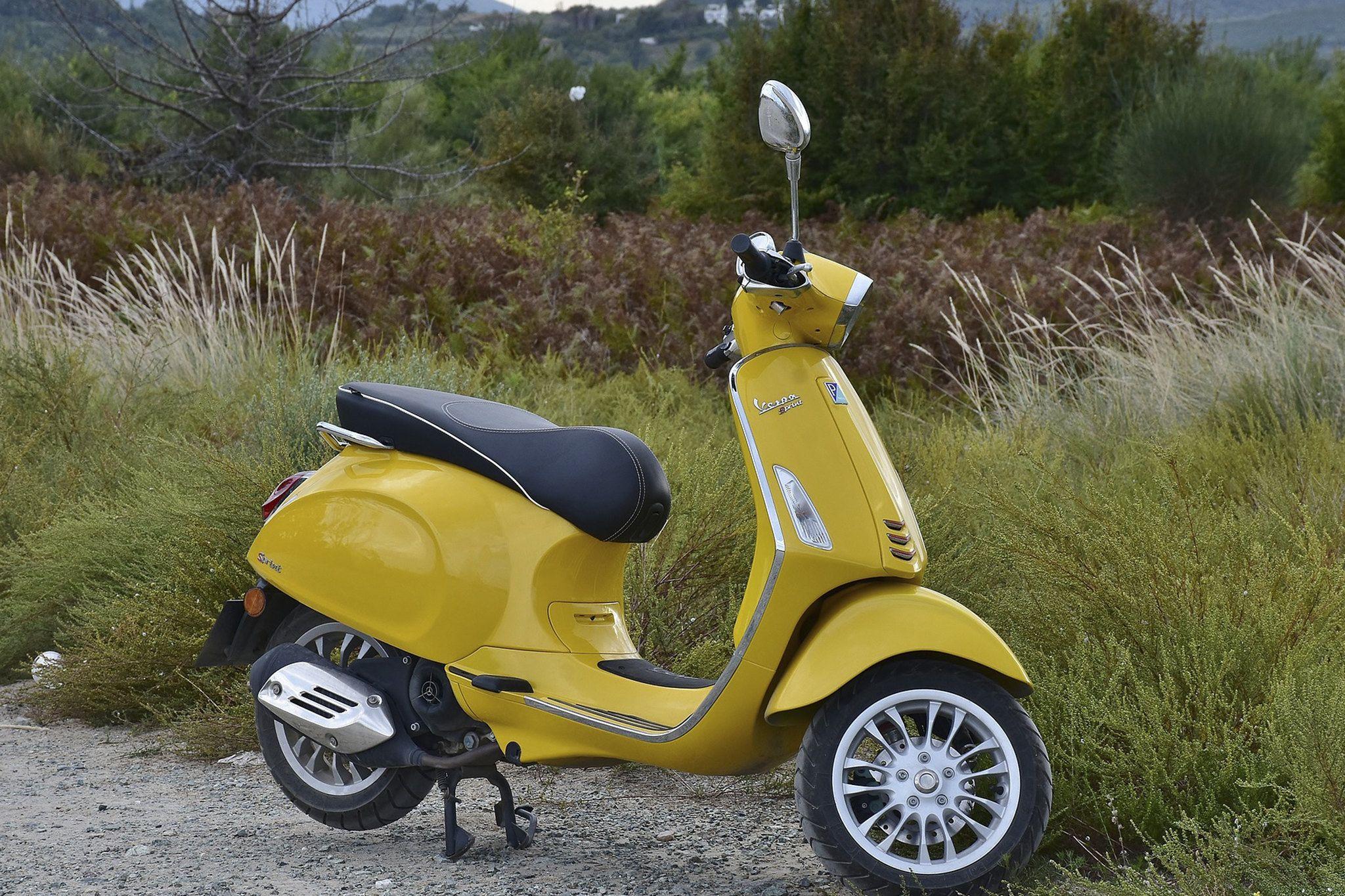 קלנועית דגם גודי ב greenextreme Motor scooters, Vespa
