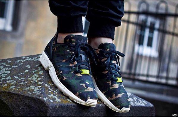 adidas zx flux homme militaire