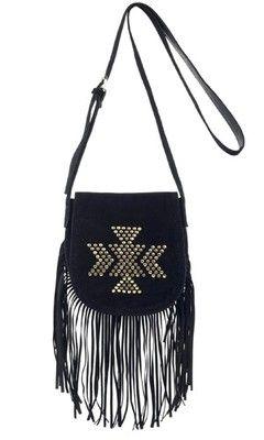 Atmosphere Primark Fringe Tassel Across Body Per Shoulder Bag Messenger Ebay