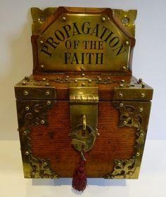 Image Result For Vintage Wood Donation Box