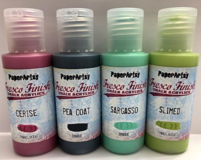 Paperartsy Tracy Scott Paints Set 02 Fresco Chalk Paint Tekenen