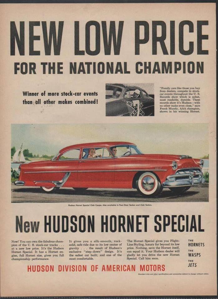 Hudson Hornet Special Ad Hudson Car Automobile Advertising