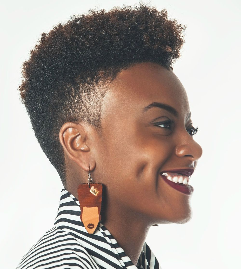 Natural Haircut Style Black Women Natural Hairstyles With