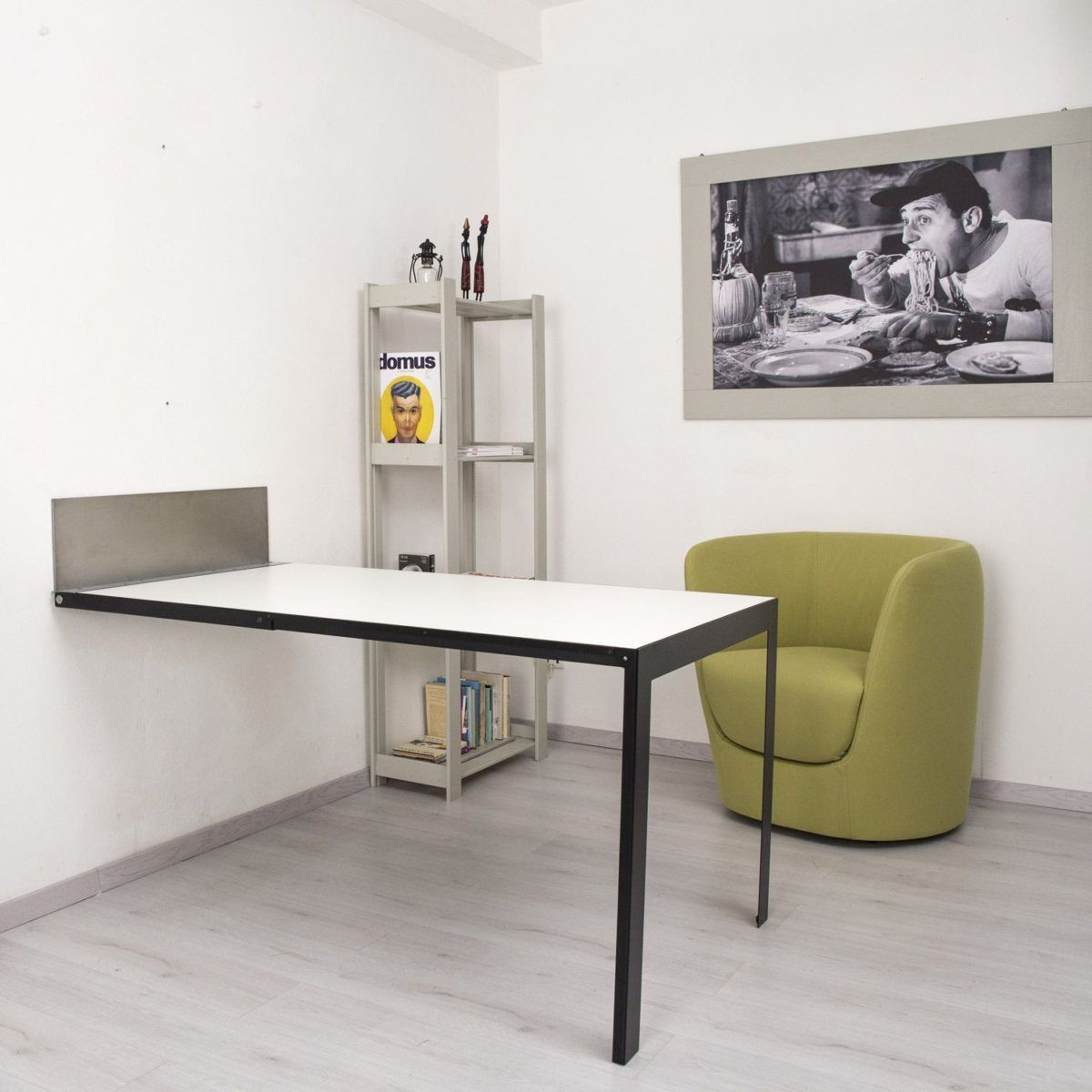 The Vengio table is a space saving superstar. When upright, Vengio ...