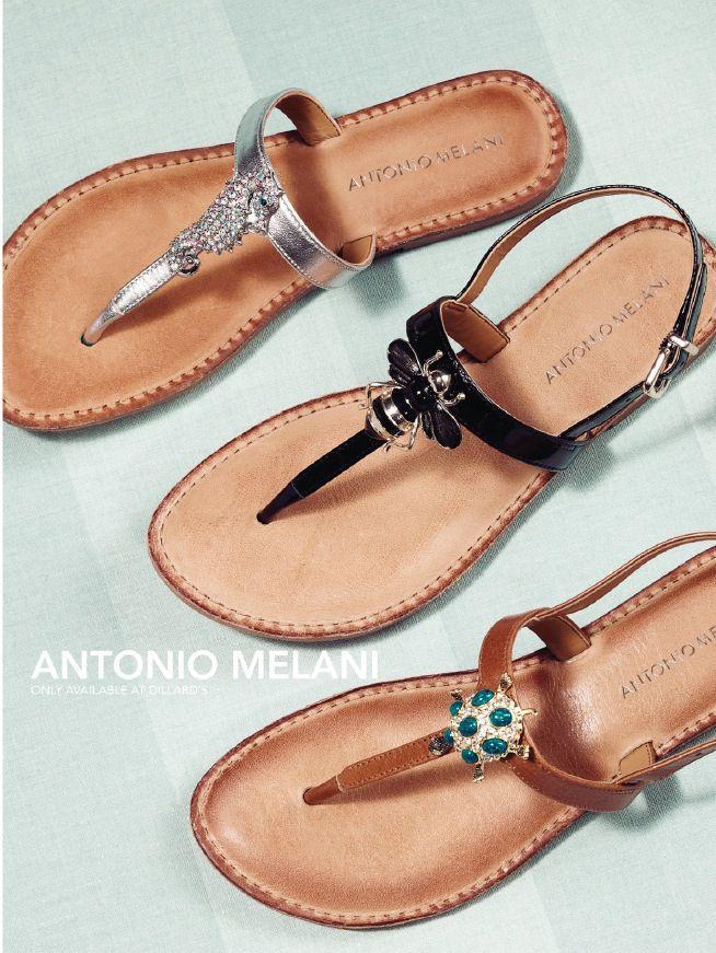 de1d78ffd10c Antonio Melani sandals at Dillard s. Love the seahorse!