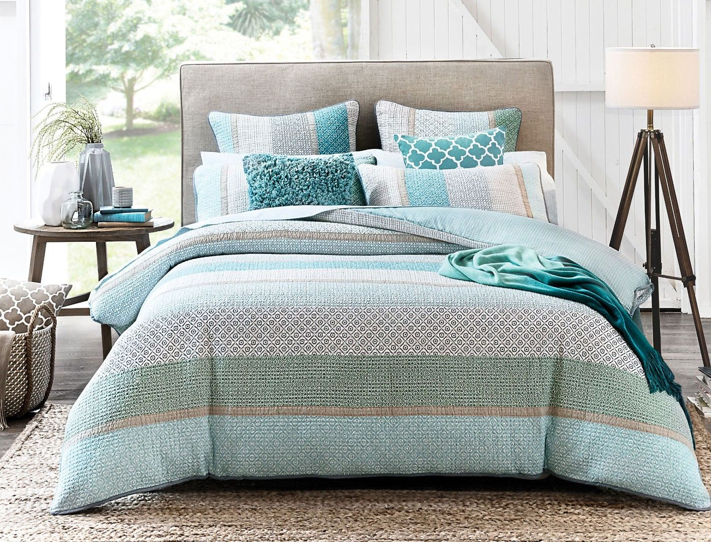 Bed Bath N' Table | 床品 | Pinterest | Quilt cover, Bedrooms and ... : bed and bath quilts - Adamdwight.com