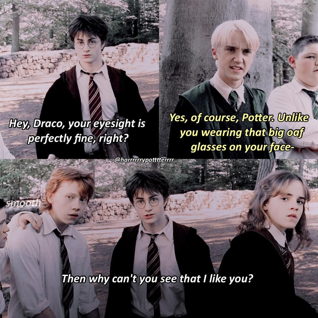 Hermione Be Like Deym Smooth Drarry Harry Potter Funny Draco Harry Potter