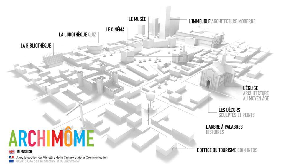 C'est une ressource numérique qui explique de façon claire et simple toutes les facettes de l'architecture.