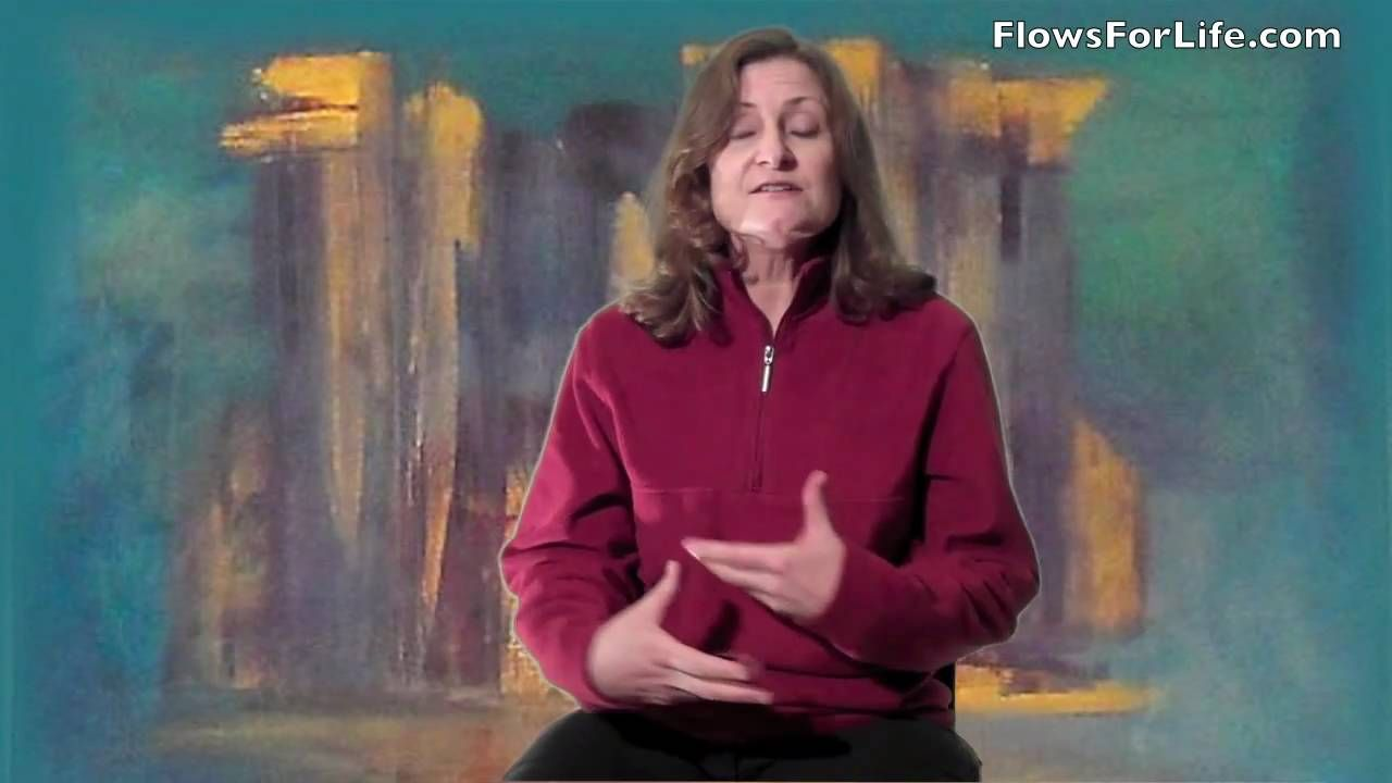 FlowsForLife Self help hold for fatigue