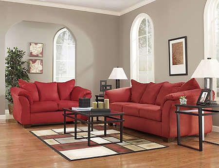Darcy Sofa Loveseat Set Art Van Furniture Sofa De La Sala Sofas Cafes Decoraciones De Casa