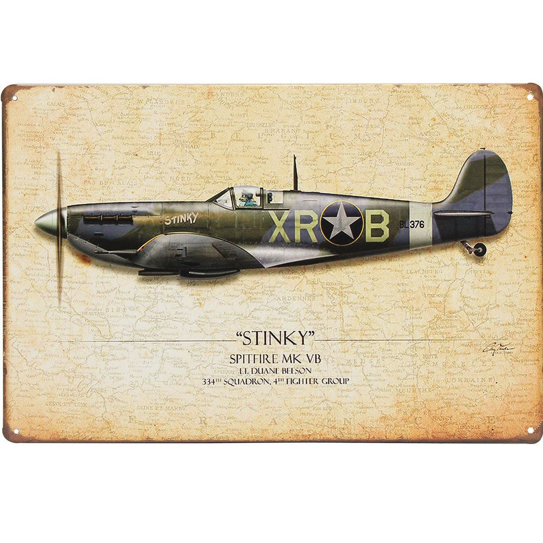 20x30cm STINKY MODEL XRB Sheet Metal Sign Metal Painting Wall Decor ...