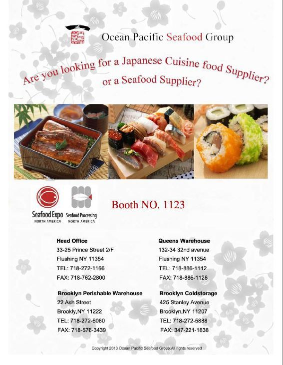 One Of Largest Wholesaler In Japanese Seafood Restaurant On East Coast Seafood Restaurant Seafood Food