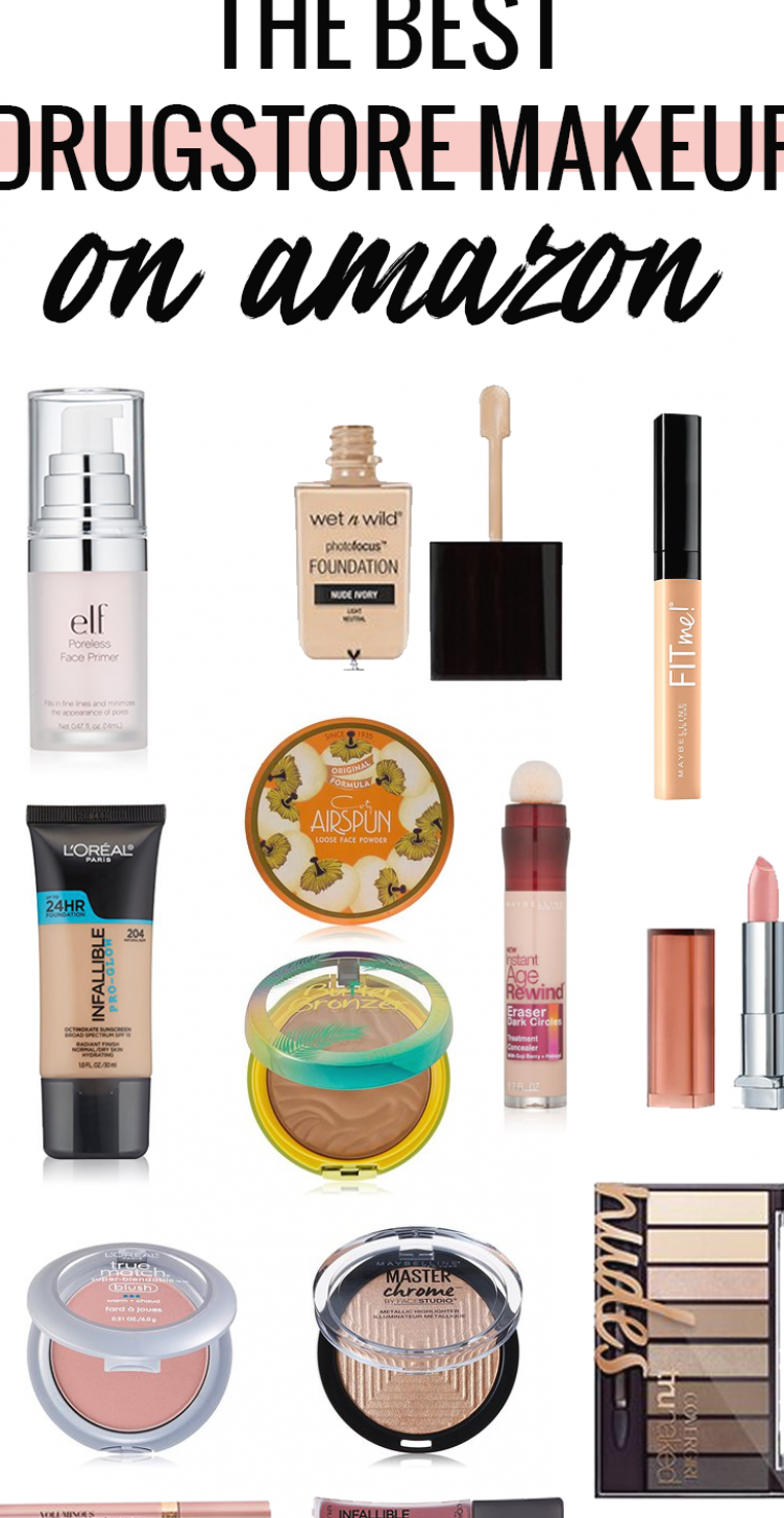 Did you know most that drugstore makeup is cheaper on