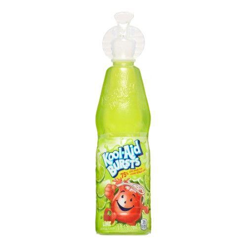 Kool Aid Bursts Soft Drink Lime 6 75 Fl Oz Pack Of 12 Jet Com Soft Drinks Kool Aid Drinks