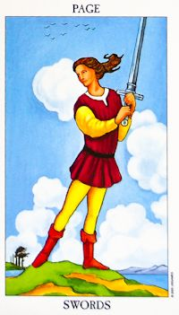 Page of Swords Tarot Card Meanings | The Suit of Swords