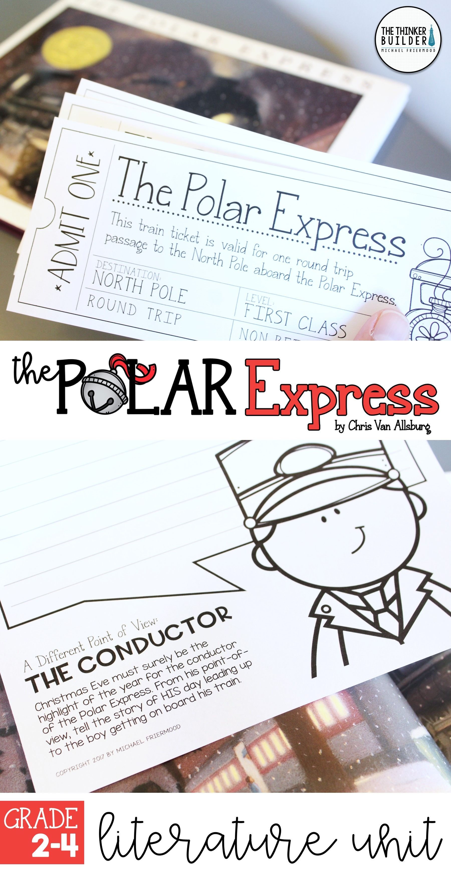 An Engaging Literature Unit For The Polar Express By