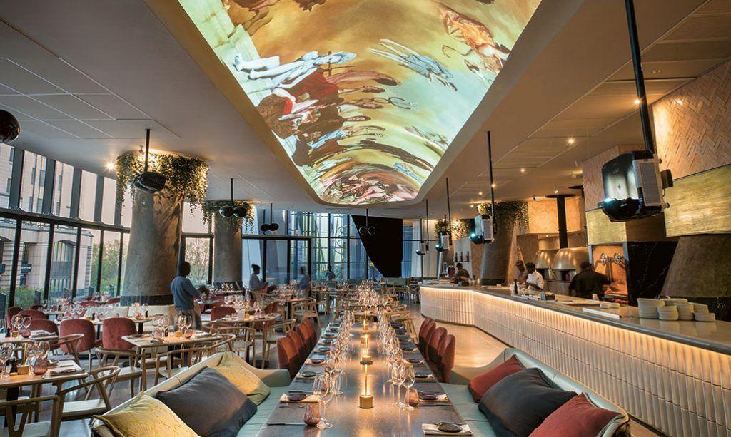Sandton Restaurant Saint Visi Restaurant Classical Architecture Italian Design