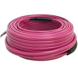 13 16 Sqft Electric Radiant Floor Heating Cable 49 Ft Length 120v 270w By Senphus 91 93 Senphus Radiant Floor Heating Radiant Floor Insulation Materials