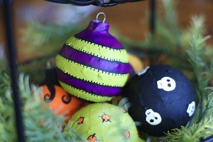 Halloween Ornaments at Mod Podge Rocks