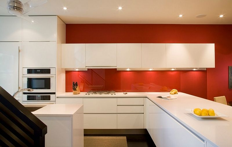 Superior Red And Orange Kitchen Ideas Part - 8: Kitchen Backsplash Ideas: A Splattering Of The Most Popular Colors!