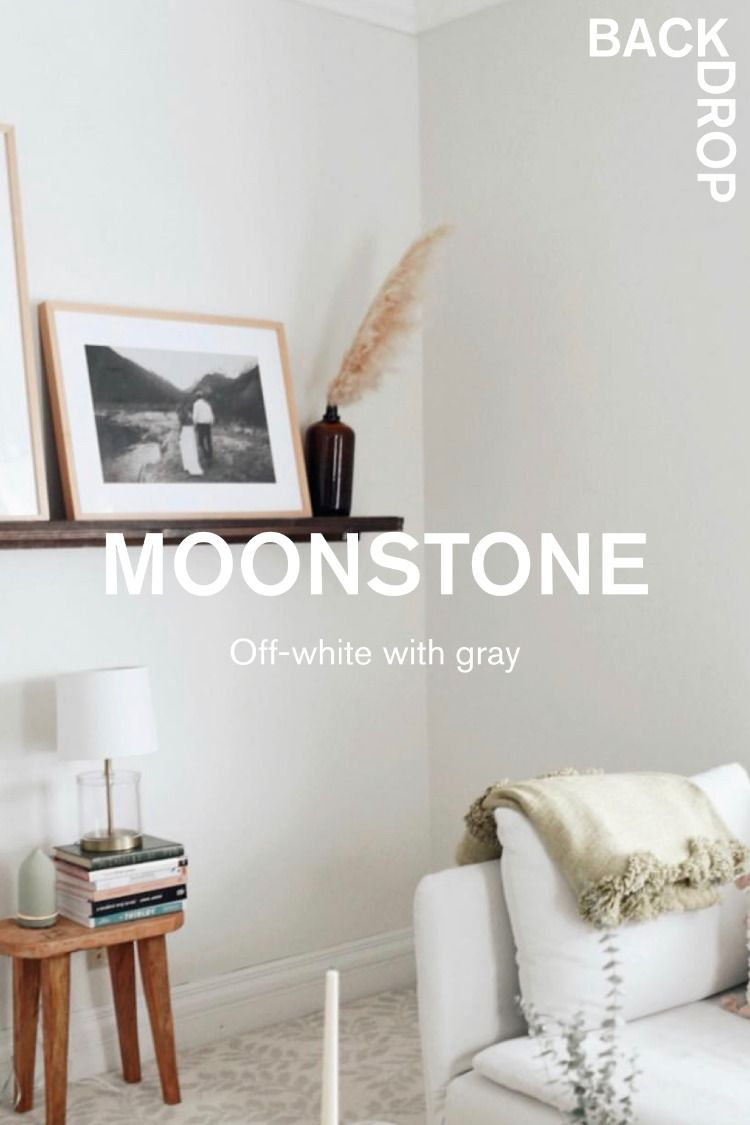 Moonstone Gray Painted Walls White Wall Paint Cleaning White Walls