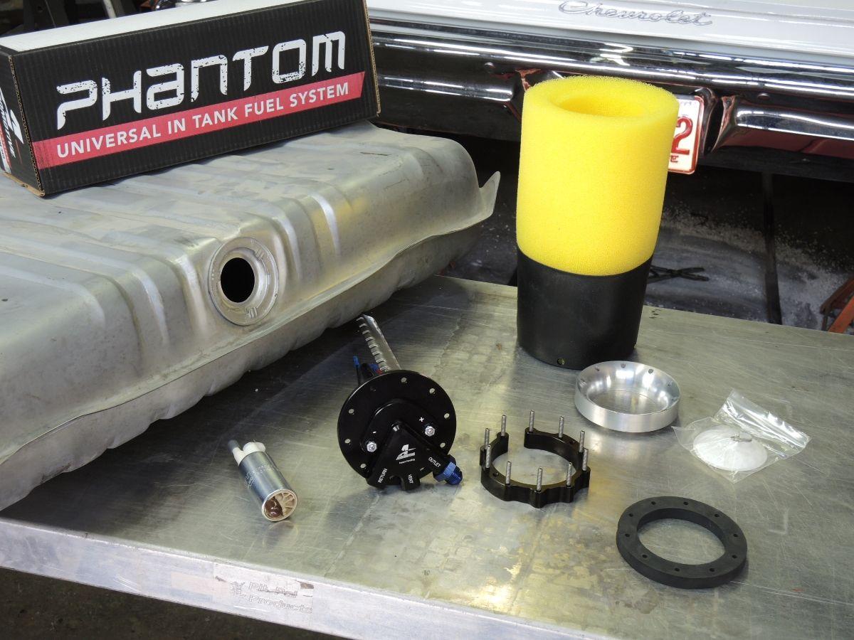 Aeromotive's Phantom fuel tank systems can prevent fuel supply problems. http://www.powerperformancenews.com/tech-articles/the-fuel-solution-2/
