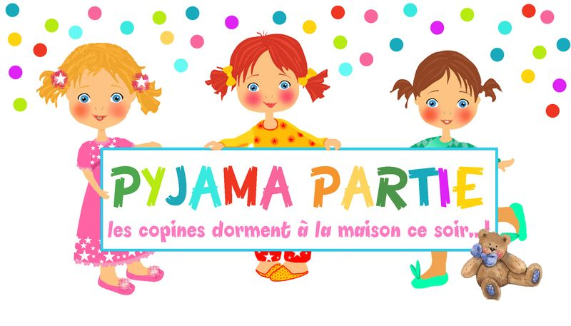 PYJAMA PARTIE ET SOIREE CONTES SUR L'OREILLER.chouette