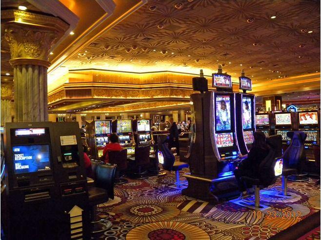 MGM Grand Casino Interior lighting