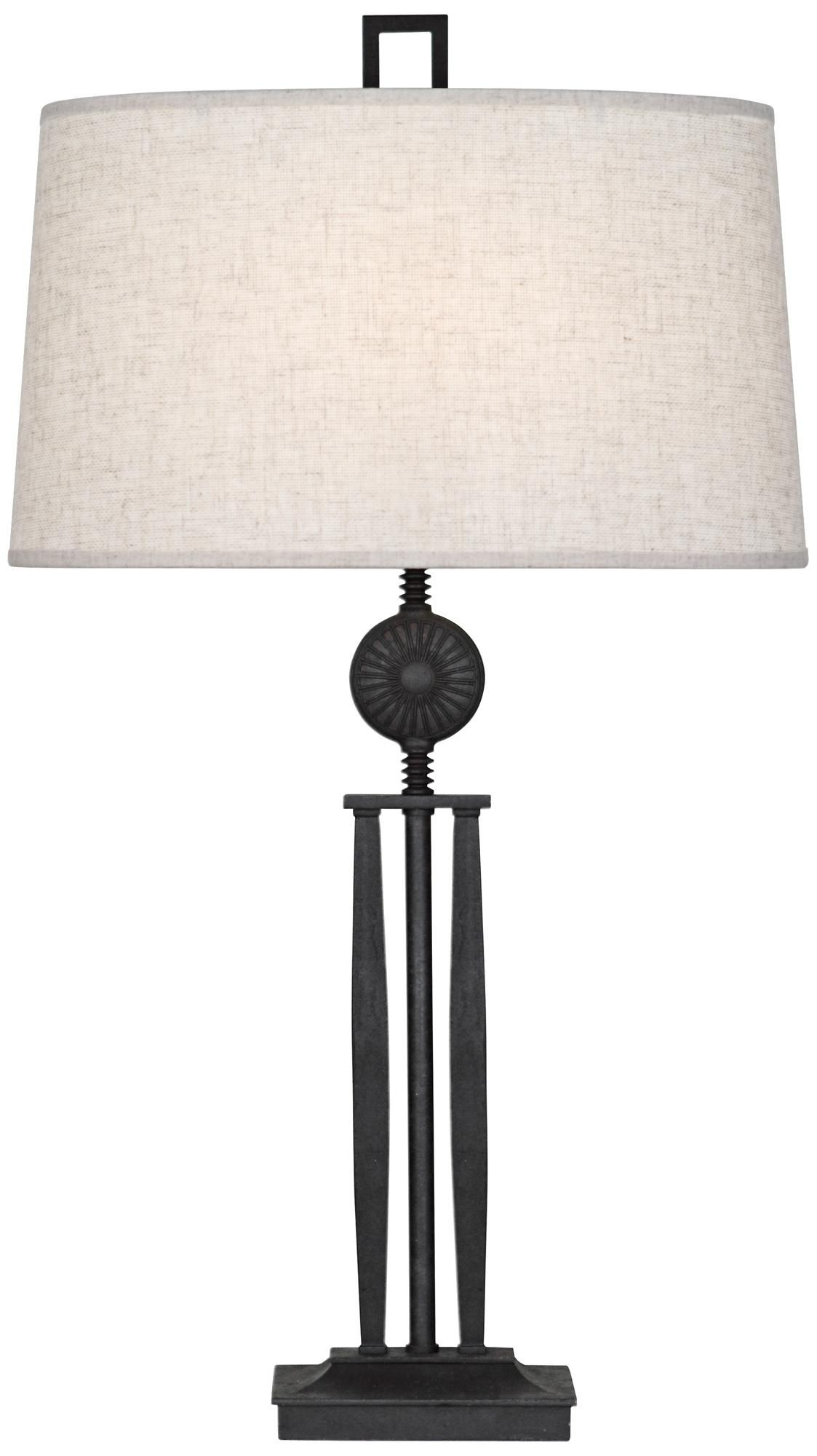 Robert Abbey Badru Wrought Iron Table Lamp Lampsplus