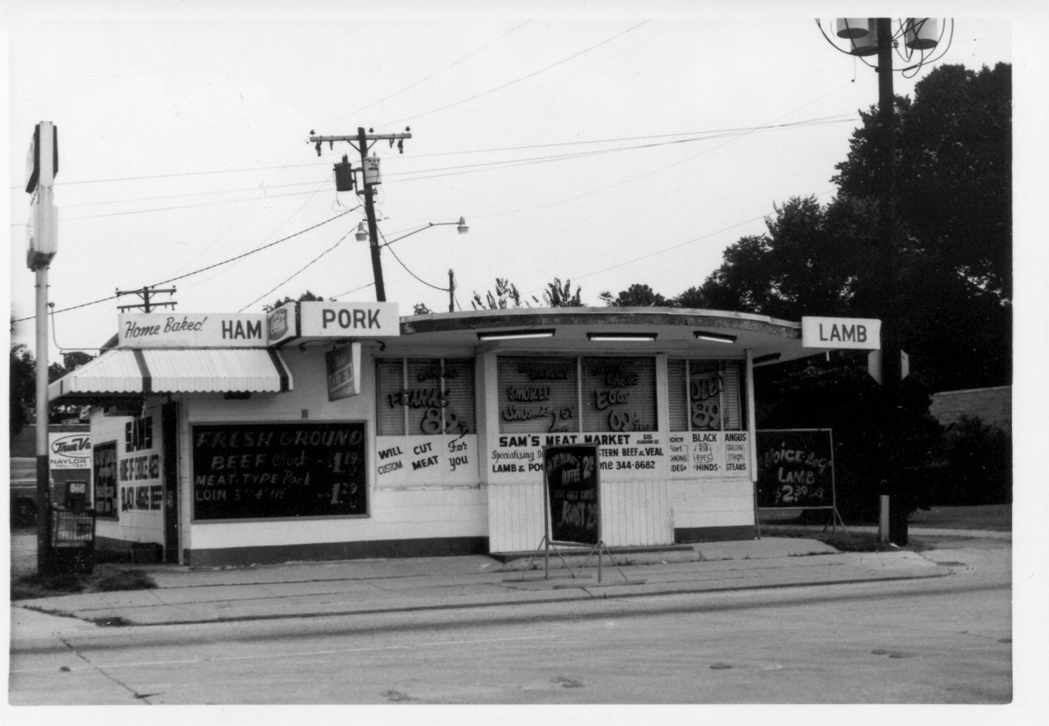 Sam's Meat Market, Government Street, Baton Rouge