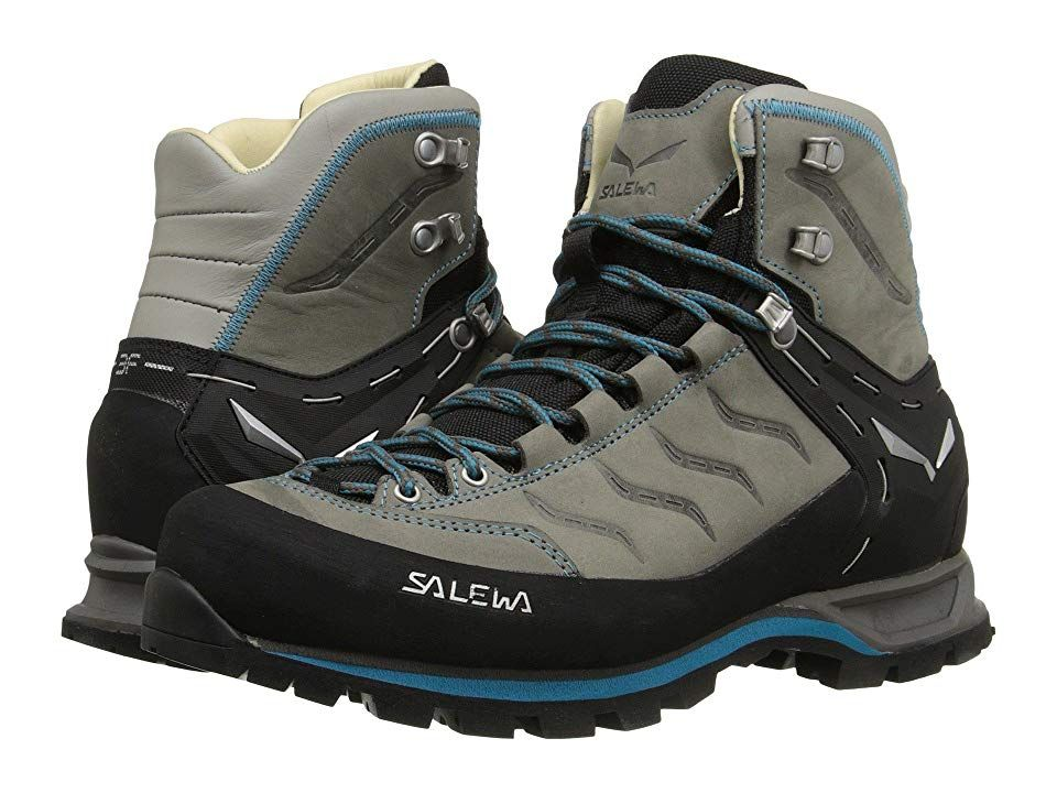 0baaf58a2f2 SALEWA Mountain Trainer Mid L Women's Shoes Pewter/Ocean | Products ...