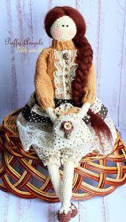 Amiguroom вяжем амигуруми кукла тильда игрушки своими руками