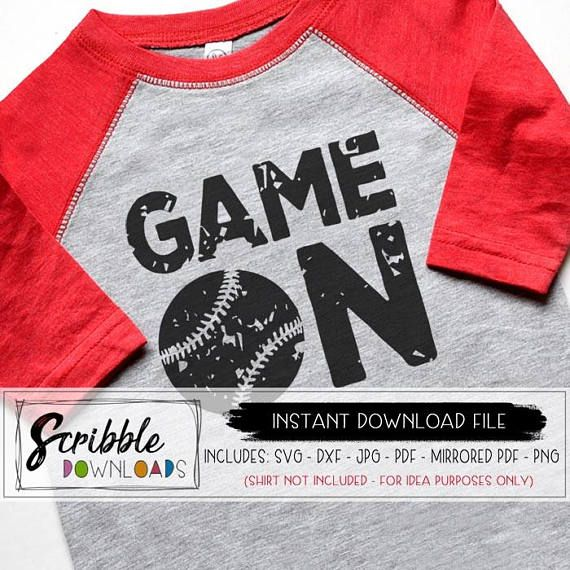 a6127d55bb15 baseball SVG Game Day svg Game On softball dxf svg Cricut Silhouette Cut  File sports distressed grun